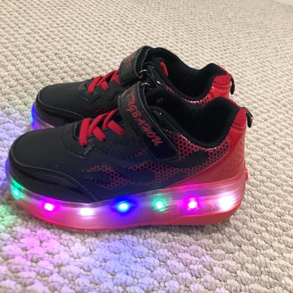 Kids Rechargeable Wheelies Led Light